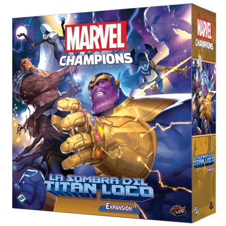 Shadow of the Mad Titan Expansion for Marvel Champions Lcg by Fantasy Flight Games