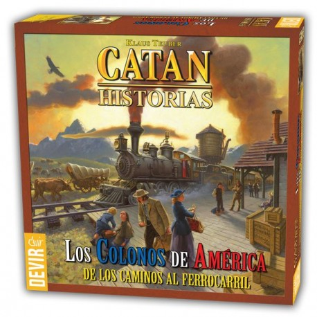 Settlers of America is the first game of Catan