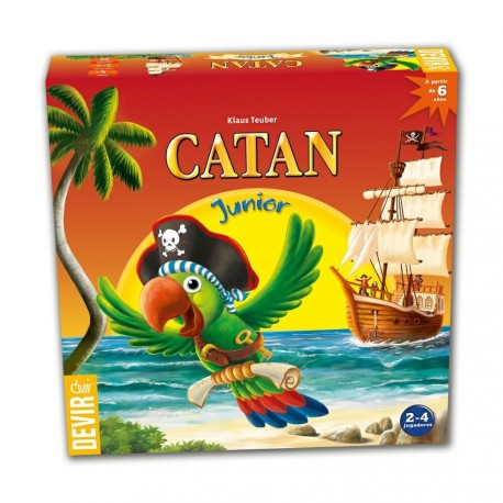 Famous table game Catan for kids box