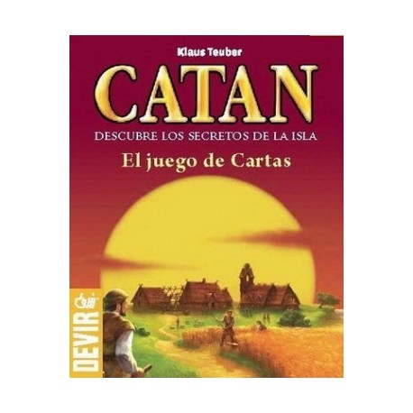 Catan cards game. Ideal for travel. Box