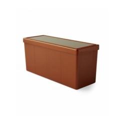 Caja 4 Espacios Acrílico Dragon Shield Copper