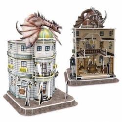 Puzle Harry Potter 3D Banco De Gringotts