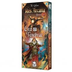 Lux et Tenebrae expansión del juego de cartas Res Arcana de Sand Castle Games