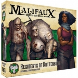 Malifaux 3rd Edition - Residents of Rottenburg