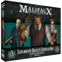 Malifaux 3rd Edition - Explorer's Society Starter Box