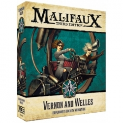 Malifaux 3rd Edition - Vernon And Welles