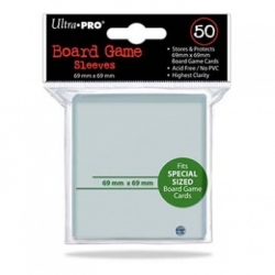 UP - Board Game Sleeves - Special Size 69x69mm (50 Sleeves)