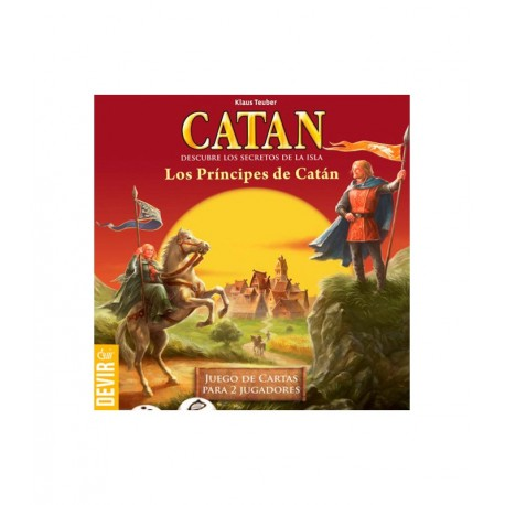 The Princes of Catan game for two players of Devir