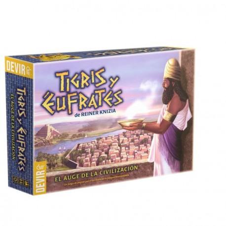 Uno de los juegos más esperados, Tigris y Éufrates es un juego de civilizaciones antiguas