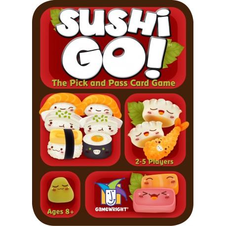 Gran juego de cartas Sushi Go!, donde tendrás que crear tu menú perfecto de Sushi para ganar y comer mejor que nadie