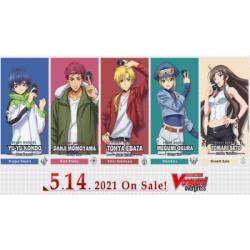 Cardfight!! Vanguard overDress - Starter Deck Display 2: Danji Momoyama - Tyrant Tiger (8 Decks) - EN