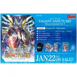 Cardfight!! Vanguard Special Series Valiant Sanctuary Special Expansion Set V - EN