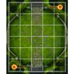 Genesis TCG: Battle of Champions - Neoprene Game Mat: Ajna