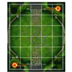 Genesis TCG: Battle of Champions - Premium Neoprene Stitched Edge Game Mat Ajna