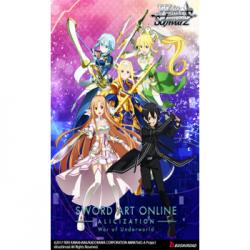 Weiß Schwarz - Sword Art Online Alicization Vol.2 War of Underworld Booster Display (20 Packs) - EN