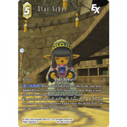 Final Fantasy TCG - Promo Bundle Star Sibyl (50 cards) March - EN