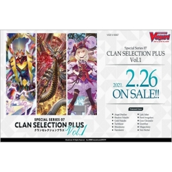 Cardfight!! Vanguard Special Series Clan Selection Plus Vol.1 Display (12 Packs) - EN