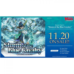 Cardfight!! Vanguard - Booster Display: Storm of the Blue Cavalry (16 Packs) - EN