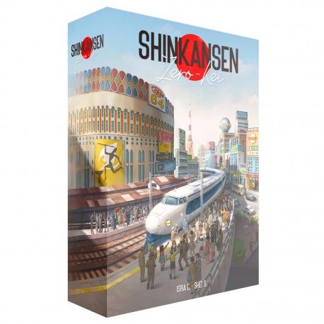 Juego de mesa Shinkansen Zero-Kei de Ludonova