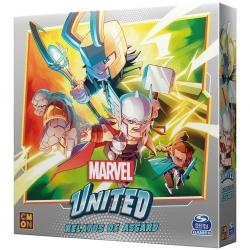 Expansión Relatos de Asgard para el juego de mesa cooperativo Marvel United de CMON Games