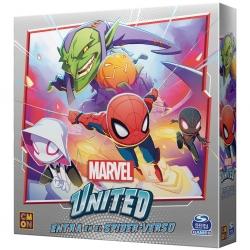 Expansión Entra en el Spider-Verso para el juego de mesa cooperativo Marvel United de CMON Games