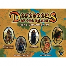 Defenders of the Realm: Hero Expansion 1 (bagged) - EN
