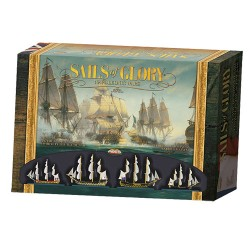 Box content Sails of Glory is a game that recreates the naval battles in the era of sailing (1650-1815).