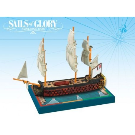 SAILS OF GLORY: ORIENT 1791 FRENCH SHIP