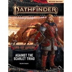 Pathfinder Adventure Path: Against the Scarlet Triad (Age of Ashes 5 of 6) 2nd Edition -EN
