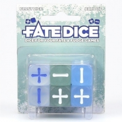 Fate Core Dice: Frost Dice