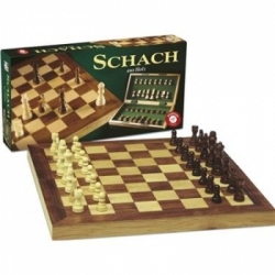 Schachkassette Holz gro'- DE