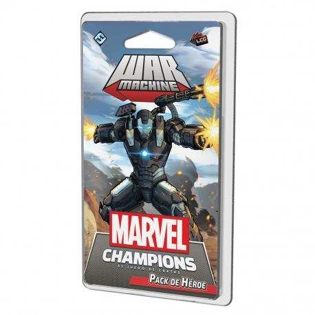 War Machine Hero pack for Marvel Champions Lcg from Fantasy Flight Games