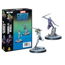 Marvel Crisis Protocol: Gamora and Nebula - EN