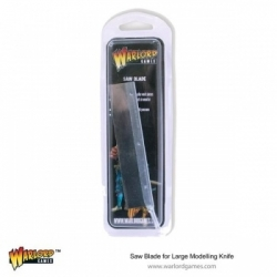 Warlord Saw Blade for Large Modelling Knife (42 TPI)
