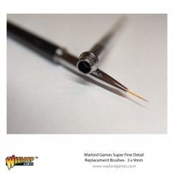Warlord 3 pack 9mm Replacement Brush