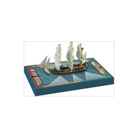 ALLIGATOR 1782 FRENCH, Barco francés capturado a los ingleses en 1782.