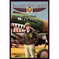Blood Red Skies - P-40 Warhawk Ace: 'Tex' Hill - EN