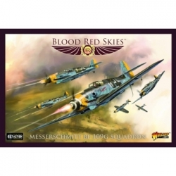Blood Red Skies - Messerschmitt Bf 109G squadron - EN