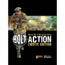 Bolt Action 2 Rulebook - German Soft Back - DE