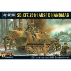 Bolt Action 2 Sd.Kfz 251/1 Ausf D Hanomag - EN