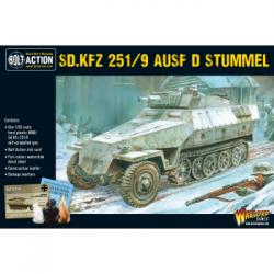 Bolt Action 2 Sd.Kfz 251/9 Ausf D (Stummel) Half track - EN