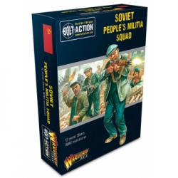 Bolt Action 2 Soviet Peoples Militia Squad - EN