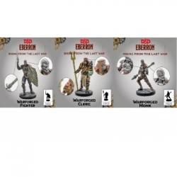 D&D Eberron Warforged - Cleric, Fighter & Monk - EN