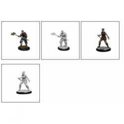 D&D Nolzur's Marvelous Miniatures - Orc Barbarian Female (6 Units)