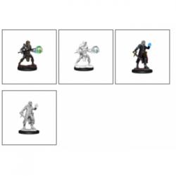 D&D Nolzur's Marvelous Miniatures - Multiclass Fighter + Wizard Male (6 Units)