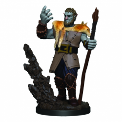 D&D Icons of the Realms Premium Figures: Male Firbolg Druid (6 Units)