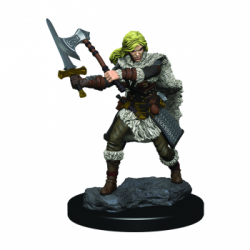 D&D Icons of the Realms Premium Figures: Human Female Barbarian (6 Units)