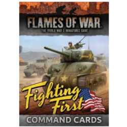 Flames of War - Fighting First Command Cards - EN