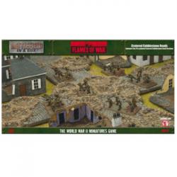 Battlefield In A Box - Cratered Cobblestone Roads