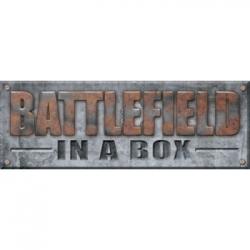 Battlefield In A Box - Gothic Battlefields - Broken Façade - Sandstone (x2) 30mm